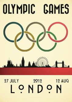 London Olympics 2012 by Andrew Maunders, via Behance
