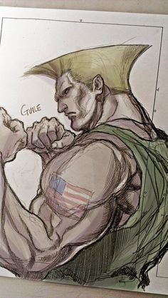 Guile Photos and videos by よしはらもとき ( Guile Street Fighter, Street Fighter Game, Street Fighter Characters, Nintendo, Street Fights, King Of Fighters, Mickey Mouse, Comic Book Artists, Power Rangers