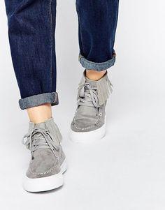 ASOS | ASOS DOOP DOOP Fringed Sneakers at ASOS