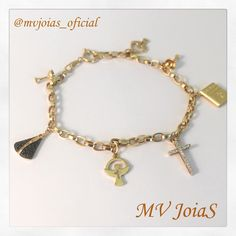 Mais um dia!  www.mvjoias.com.br #amem #DiaDasMaes #ouro #pulseira #mae #promocao #joias #atacado #varejo #jewelry #gold #mothersday #chain #pendant #bracelet #fashion #trendy #fashionista #stylish #girl #bracelets