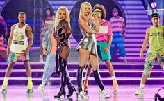 Britney Spears & Iggy Azalea's Pretty Girls performance at Billboard Music Awards | EW.com