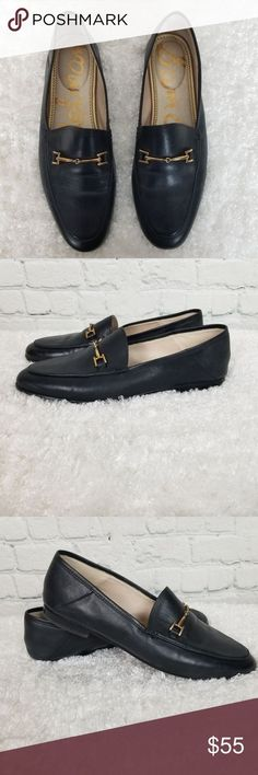 ec6f43b73 MATCHESFASHION.COM US. Sam Edelman Black Loraine Loafers ...