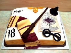 Harry Potter Birthday Cake on Cake Central