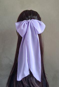 Aqua Hair, Lilac Hair, Pastel Hair, Gray Hair, Chiffon Scarf, Sheer Chiffon, Scarf Hairstyles, Cool Hairstyles, Ponytail Bun
