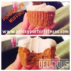 This Mom Is Going From Fluff To Buff!: Clean Pumpkin Pie Muffins/cupcakes!