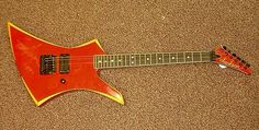 A Kahler-equipped Jackson formerly used by Sammy Hagar....