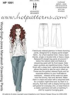 want to make these pants in linen.