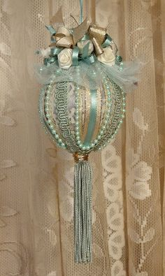 Victorian Christmas Ornaments | Handmade VICTORIAN CHRISTMAS Ornament                                                                                                                                                                                 More