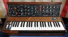 MATRIXSYNTH: Modified Moog Minimoog Model D Synthesizer + Fligh...