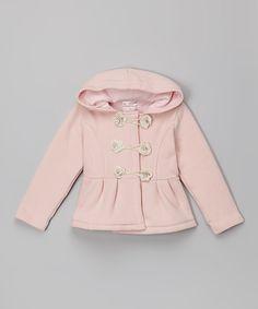 Цветок Couture розовые цветочные Peacoat - Малыша & девочек   zulily