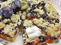 Makový koláč se švestkami Sweet Cakes, Desert Recipes, Sweet Recipes, Ham, Mashed Potatoes, Sweet Tooth, Goodies, Cooking Recipes, Healthy