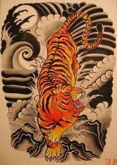 japanese tiger | Japanese Style tiger
