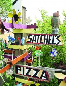 Satchel's Pizza They have such amazing backdrops with their decor I would love to do a Senior urban/retro session here.