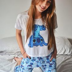 Cute Disney Outfits, Cute Lazy Outfits, Pretty Outfits, Beautiful Outfits, Cool Outfits, Fashion Outfits, Cute Pajama Sets, Cute Pjs, Cute Pajamas