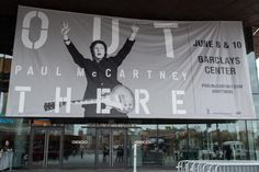 The announcement of Paul McCartney's New York shows
