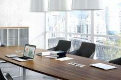 Meble konferencyjne. System stołów Type.