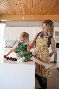 Aprons for your little helper   Hen House Linens Junior Cook's Apron