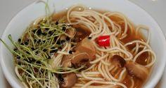 Receta => Sopa Oriental de Noodles y Tofu