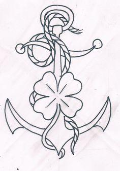 traditional tattoo flash #anchor tattoo #old school tattoo