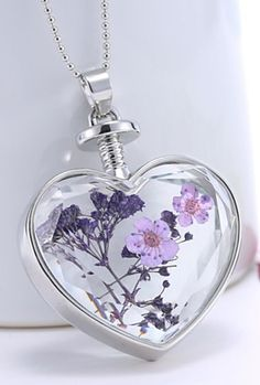 Wild flowers necklace