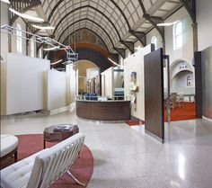 Inside Cfx's Transformed-Church Offices