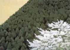Spring   -   Shinkichi  Kaii Higashiyama  1993  Japanese, 1908–1999  Lithograph,   44.4 x 60.7 cm. (17.5 x 23.9 in.)