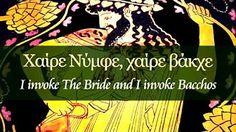 Orphic Hymn to Dionysus -
