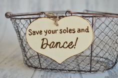 Rustic Wedding Reception Sign Save Your Soles by RiverRoadRustics