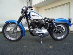 Harley mille fonte 1977