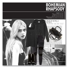 Untitled #219 by mlannan on Polyvore featuring American Vintage, 10 Crosby Derek Lam, Faith Connexion, Yves Saint Laurent and Burberry