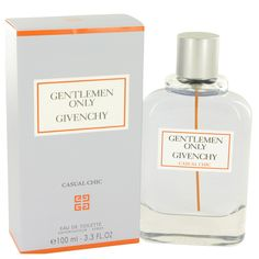 Gentlemen Only Casual Chic by Givenchy, Eau De Toilette Spray 3.3 oz