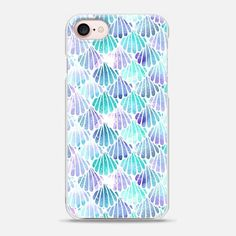 Scallop Mermaid Scales - Snap Case