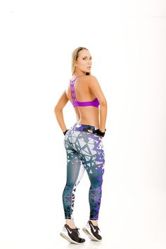 Colorful Print Leggings - 26C Check out these cool new leggings with a super colorful print. Made from extremely supportive material that gives a firming effect and makes the booty pop! The Brazilian version of SPANX! Approximate inseam for sizing is 24″ One size fits most in a S-M range
