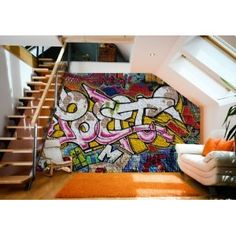 Fototapete Graffiti 400x280 Grafitti Graffitti NEU Kleistertapete: €39,95 #Graffiti #Germany