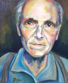 "Saatchi Art Artist Clara de Bobes; Painting, ""Antonio"" #art Saatchi Art, Oil On Canvas, Original Paintings, The Originals, Artist, Paintings, Human Figures, Artists"
