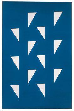Alfredo Volpi formas concretas, 1950