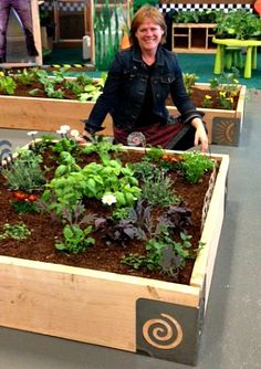 Kids Growing Strong exhibit at the San Francisco Flower and Garden Show Raised Garden Beds, Raised Beds, Small Garden Bed Ideas, Narrow Garden, Growing Strong, Corner Garden, Garden Show, Companion Planting, Grow Your Own