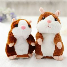 Us 612 25 Off Mini Cute Cartoon Talking Hamster Plush Toys Sound Record Plush Stuffed Toys For Kids Christmas Amazing Gift High Quality In Action Amp Talking Hamster, Talking Toys, Birthday Gifts For Boys, Gifts For Kids, Educational Toys For Kids, Kids Toys, Hamster Toys, Cute Hamsters, Electronic Toys