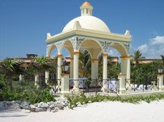 Mayan vibes and decadent luxury combine to make the #GrandBahiaPrincipeAkumal a wonderfully romantic destination wedding venue! See more details at our +I Do Mexico Wedding Planner and talk to fellow Brides and specialist vendors like #DahenaBuhaya for expert tips to create your dream beach wedding, #TrashTheDress and honeymoon! ~~ I Do Mexico / Riviera Maya Wedding Resorts & Hotels