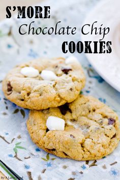S'more Chocolate Chip Cookies