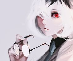 I get that this is supposed to be female Haise or something along those lines but it looks like the daughter that would be born if Touka and Kaneki actually had a baby