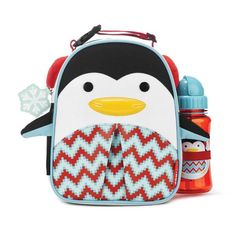The ZOO Lunchie Gift Set is perfect for preparing your little cub for an arctic expedition to the bus stop. Frigid temps are no match for the insulated, wipe-clean interior that keeps food just right