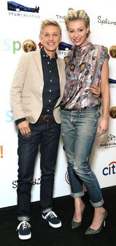 Ellen DeGeneres & Portia de Rossi... this and better :) is what my soul mate and I have :)