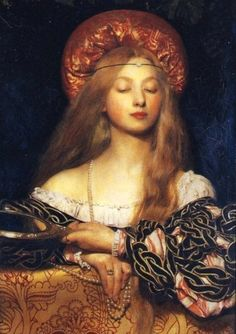 "Pre Raphaelites -""Vanity "" by Frank Cadogan Cowper c.1907 This one is relatively unknown to me, love it."