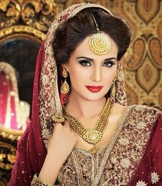 Indian bridal hairstyle for wedding 2