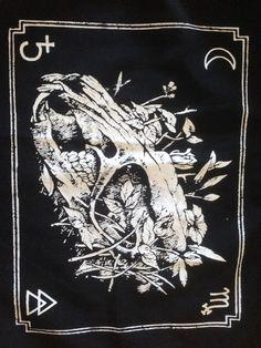 Rat Skull Back Patch, Punk Back Patch, Horror, Black by OneHandPrinting on Etsy https://www.etsy.com/listing/163523098/rat-skull-back-patch-punk-back-patch