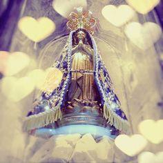 ♬♪Que as pedras do meu caminho Meus pés suportem pisar Mesmo ferido de espinhos me ajude a passar Se ficaram mágoas em mim Mãe tira do meu coração E aqueles que eu fiz sofrer, peço perdão Se eu curvar meu corpo na dor Me alivia o peso da cruz Interceda por mim minha Mãe, junto a Jesus  Nossa Senhora me dê a mão Cuida do meu coração Da minha vida, do meu destino  Do meu caminho Cuida de mim♬♪ Roberto Carlos . #NossaSenhoraAparecida #DiaDasCriancas #Aparecida #PadroeiraDoBrasil
