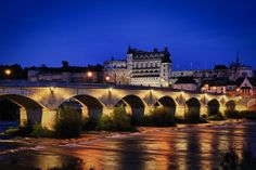 Amboise Bridge Loire Valley by Tim Masters, via 500px