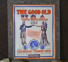 The Good Old USA! Epsteam Goes Americana by Helen on Etsy