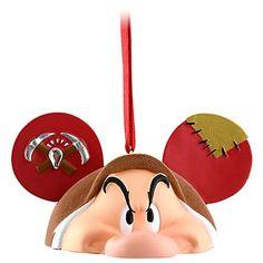 Your WDW Store - Disney Ears Ornament - Grumpy Dwarf - Limited Edition
